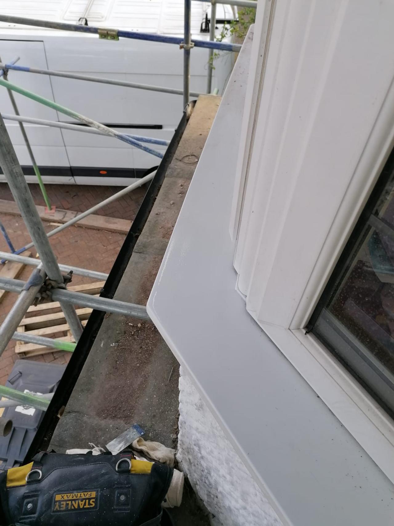 UPVC repairs large